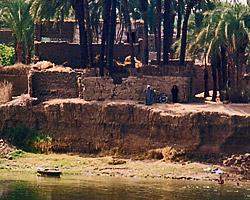 Riverside hamlet near Esna