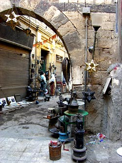 Alleyway in the Khan el-Khalili