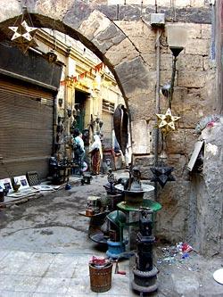 Alleyway in the Khan el-Khalili
