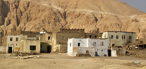 Houses on the West Bank