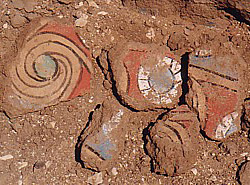 Pottery at Malqata