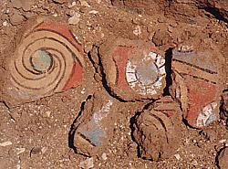 Pottery at Malqata
