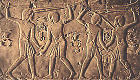 Stick fighters in the tomb of Kheruef