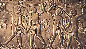 Stick fighters in the tomb of Kheruef