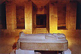 Merenptah's burial chamber