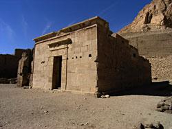 The Deir el-Medina Temple of Hathor