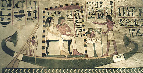 The 'Abydos Pilgrimage' in Sennefer's tomb