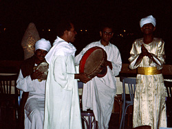 Musicians at the el-Gezira