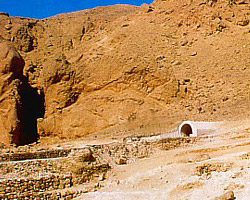 Entrance to Nefertari's tomb