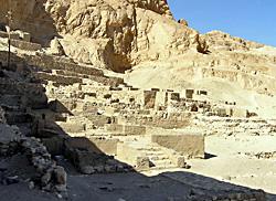 Early temples at Deir el-Medina