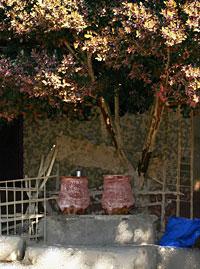 Cooling water jars at Kom Lolla