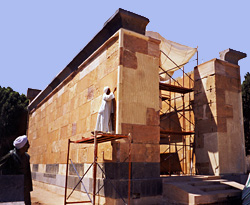 Restoration of the Red Chapel, 1998
