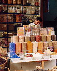Aswan spice stall