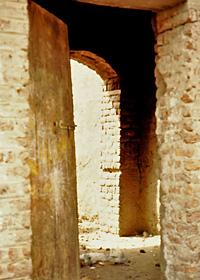 Door to Omm Sety's house