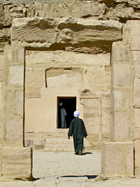Ptolemaic rock-cut temple at el-Kab