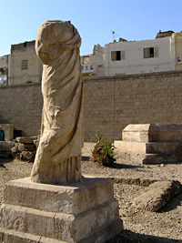 Statue of Venus (Isis) at Akhmim