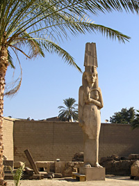 Colossal statue of Meitamun at Akhmim