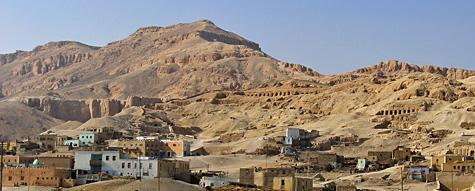 Sheikh 'Abd el-Qurna tomb area