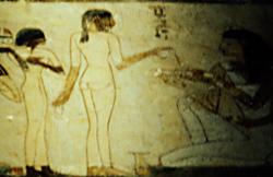 Servant girl in Rekhmire's Tomb