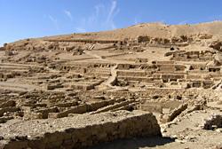 The village of Deir el-Medina