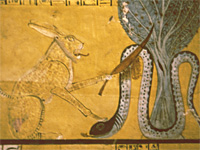 Painting in the tomb of Inherkau