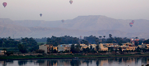 Ballons over the West Bank
