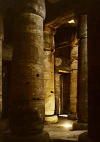Hypostyle Hall in Abydos Temple