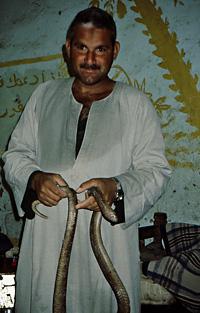 The snake-man