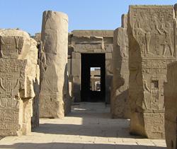 The Sanctuary of Amun at Karnak
