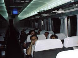 Cairo-Luxor night train