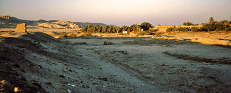 Malqata at sunset