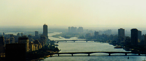 Bridges over the NIle at Cairo