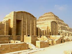 Saqqara dummy buildings
