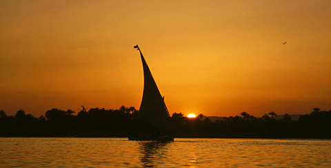 Felucca on the River Nile