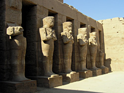 Barque station of Rameses III