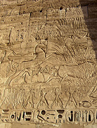Rameses III and the Bull-hunt