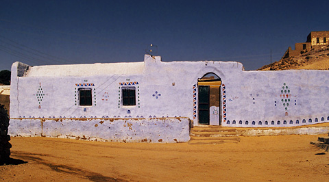 Nubian village house