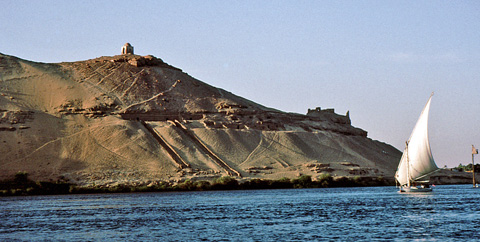 The Nobles tombs at Aswan
