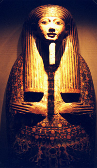 Coffin lid of Padi-Amun