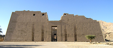 Medinet Habu First Pylon