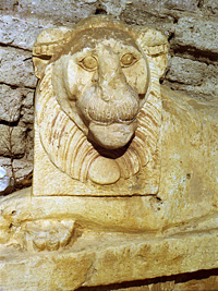 Greek Lion Statue