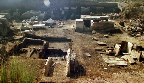 Tombs at Ehnasya el-Medina