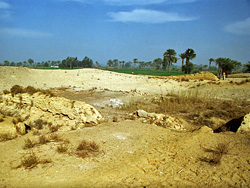 Mystery site at Kom el-Ahmar