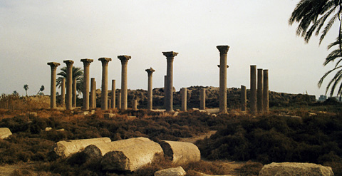 Coptic basilica at el-Ashmunein