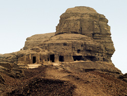 Temples at Tihna el-Gebel
