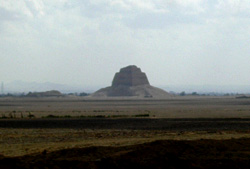 A glimpse of Meidum Pyramid