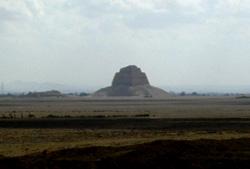 A glimpse of Meidum Pyramid