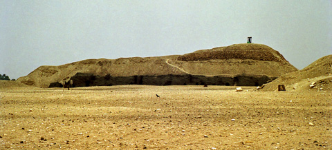 Mastabas at Meidum