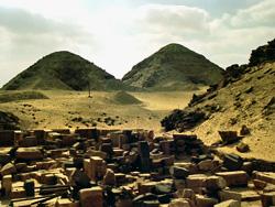 Pyramids of Niuserre & Neferirkare