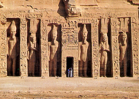Hathor Temple at Abu Simbel